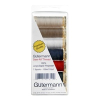 Gutermann Poly 100% ASST 7 pack