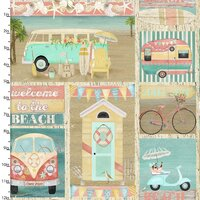 Beach Travel Multi Patch
