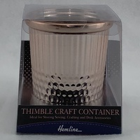 Giant Ceramic Thimble Tidy or Craft Container