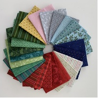 Better Not Pout Fabric Bundle 23 X 1/8m By Nancy Halvorsen for Benartex Fabrics