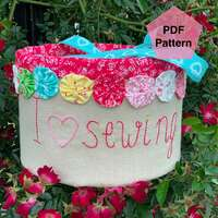I love Sewing Caddy PDF Pattern